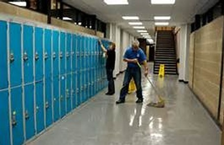 Janitorial Services Floor Care Maintenance Window Cleaning